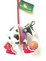 Sports Cow Ornament (Basketball) - $14.85