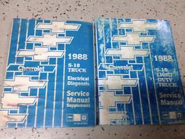 1988 Chevy Chevrolet S10 S-10 TRUCK Service Shop Repair Manual SET W EWD... - $21.73