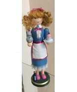 Alice in Wonderland, Wooden Nutcracker, Holiday Lane. Measures 14 in Tal... - £33.01 GBP