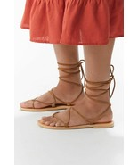 NEW Urban Outfitters UO Margerite Gladiator Sandal in Brown sz 9 - $20.79