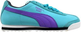 Puma Roma SL NBK 2 Blue/Purple-Turbulence 355494 01 Women's SZ 10 - $48.60