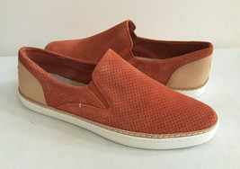 Ugg Adley Perf Fire Opal Slip On Suede Sneakers Us 9.5 / Eu 40.5 / Uk 8 Nib - $55.17
