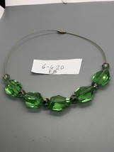 Vintage Green Choker - $6.09