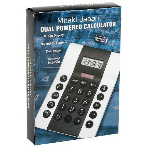 Mitaki-Japan Dual-Powered Calculator