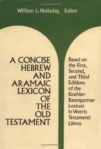 A Concise Hebrew and Aramaic Lexicon of the Old Testament (English, Hebr... - $21.95