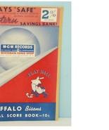 1951 Buffalo Bisons Minor League Baseball Scorecard v Toronto - $23.76