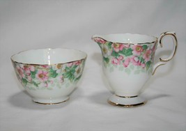 Staffordshire Maytime Mini Creamer & Open Sugar  #2327 - $38.00