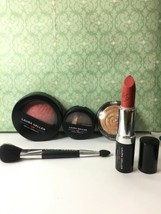 Laura Geller 5 Piece Set Blush,Eye shadow,Highlight,Lipstick,Brush SEE PHOTOS - $29.45