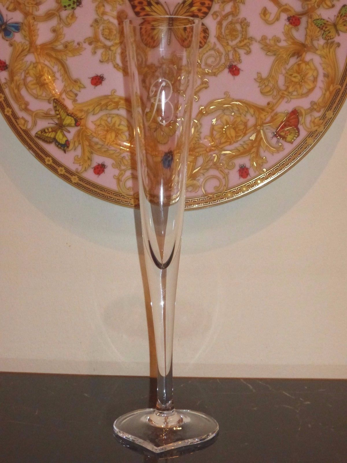 Moser Crystal Duet Champagne Flute 10 3/4