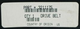 Polaris 3211175 Double Sided ATV Drive Belt Genuine OEM part image 4