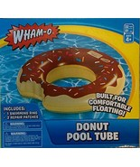 Wham-O Inflatable Donut Pool Float Tube, Color May Vary - $10.62