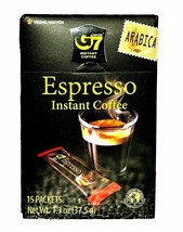 Trung Nguyen - G7 Instant Espresso Coffee – 1 Box of 15 Single Serve Sticks  image 2