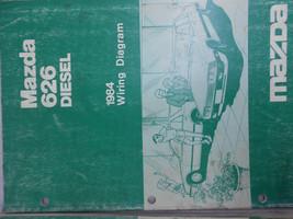 1984 Mazda 626 Diesel Electrical Wiring Diagram Shop Manual FACTORY OEM BOOK 84 - $6.67