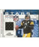 Ben Roethlisberger 2008 Playoff Prestige Stars of NFL Game Jersey 56/100... - $19.79