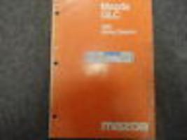 1981 Mazda Glc Elektrisch Wiring Diagrams Service Manuell Fabrik OEM Buc... - $7.42
