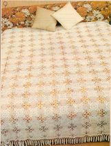 3X Lattice & Floral Trio Mats Fit For A King Bedspread Crochet Doily Pat... - $6.99