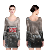 Gymkhana Women Sexy Long Sleeve Bodycon  Dress - $24.80+