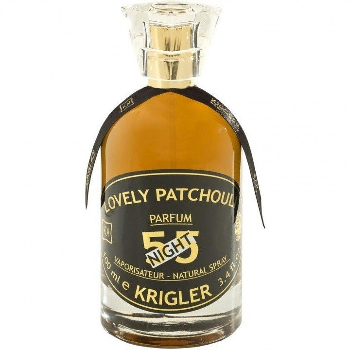 LOVELY PATCHOULI 55 NIGHT by KRIGLER 5ml Travel Spray Perfume AMBER MUSK