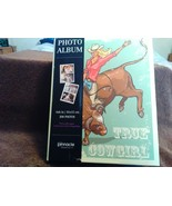 New !!  208 Photo Album  Reads:  True Cowgirl  Multi Colored   By Pinnac... - $16.62