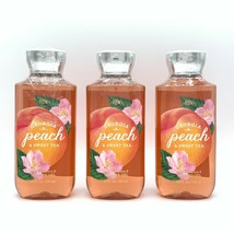 Bath and Body Works Georgia Peach and Sweet Tea 10-fl oz Shower Gel 3-Pack - $34.22