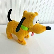 Disney Baby Pluto Animated Walking & Wags Tail Pet Dog Plush Toy - $14.89
