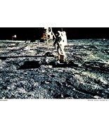 NASA Picture 15  Aldrin sets up seismograph - $2.50
