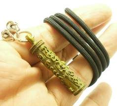TAKRUT CROUCHING TIGER LP KUI STRONG LIFE PROTECTION LUCKY THAI NECKLACE... - $39.99