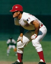 PETE ROSE 8X10 PHOTO CINCINNATI REDS BASEBALL MLB PICTURE ON BASE - $3.95