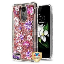 Stargazers/Rose Gold Sparkles TUFF Hybrid Cover for LG Tribute Empire/Ar... - $13.39