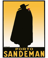 "13x19""Poster on Canvas.Home Interior design.Porto Sandeman red wine.10570 - $40.58"