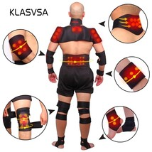 KLASVSA Magnetic Belt Back Neck Self-heating Posture Correcter Brace Pai... - $26.52