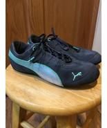 PUMA Womens Navy Teal Shoe Sneaker Sz 6 - $12.34