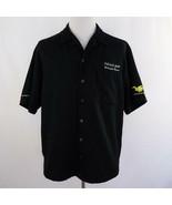 Deals Gap Motor Resort Embroidered Dragon Button Front Pocket Shirt Mens... - $33.77