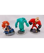 Infinity Lot of 3 Monsters Inc Sully Brave Incredibles - $4.46