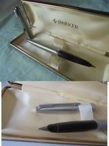 PARKER 45 PENNA STILOGRAFICA IN ACCIAIO + SCATOLA Steel Fountain Pen + B... - $32.65