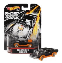 Hot Wheels Marvel Ghost Rider Charger 3/5 Real Riders 50th Anniversary MOC - $8.88