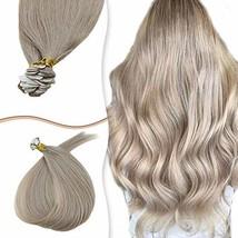 RUNATURE PU Mini Tape on Hair Extensions Dark Ash Blonde Human Seamless Hair M G