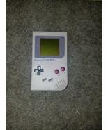 Nintendo Game Boy Gray Handheld System W/ NAKI Mini Arcade! Works Great! - $346.50