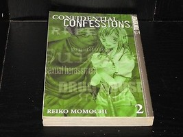 CONFIDENTIAL CONFESSIONS Vol.2 Graphic Novel Manga - $11.00