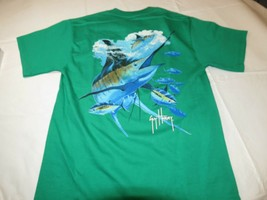 Mens Guy Harvey Bluewater S small Green pocket short sleeve t shirt NWOT - $21.26