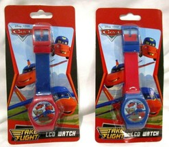 Unisex Set of Disney Cars LCD Watch Wristwatch LCD Digital Watches-Brand... - $49.49
