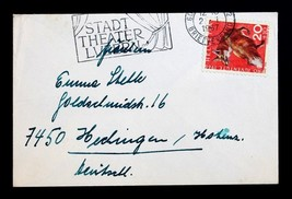 """Stamp Switzerland B363 Semi Postal Early Use on Tiny Cover 3"""" x 4 1/2"""". - $49.99"""