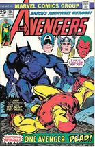The Avengers Comic Book #136, Marvel Comics Group 1975 VERY FINE - $17.34