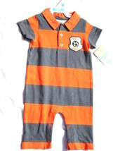 Carter's Cotton Jumpsuit Coverall Onepiece Romper 6 Months Soccer Mommy NWT - $6.99