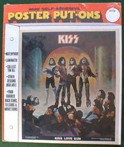 KISS LOVE GUN 1977 Poster Put-On Sealed in Package - $19.98