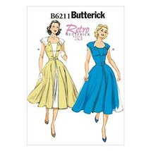 Butterick Patterns 6211 E5 Sizes 14/16/18/20/22 Misses Dress and Belt by Butteri - $14.70
