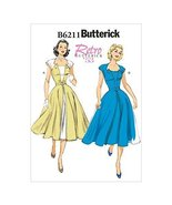Butterick Patterns 6211 E5 Sizes 14/16/18/20/22 Misses Dress and Belt by... - $14.70