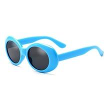 For Women Funny Chunky Oval Mirror Glasses Female Male Sunglasses Glasses - $26.99