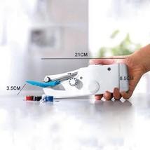 Sewing Machine Portable Mini Stitch Hand Held Handheld Electric Travel H... - $17.79