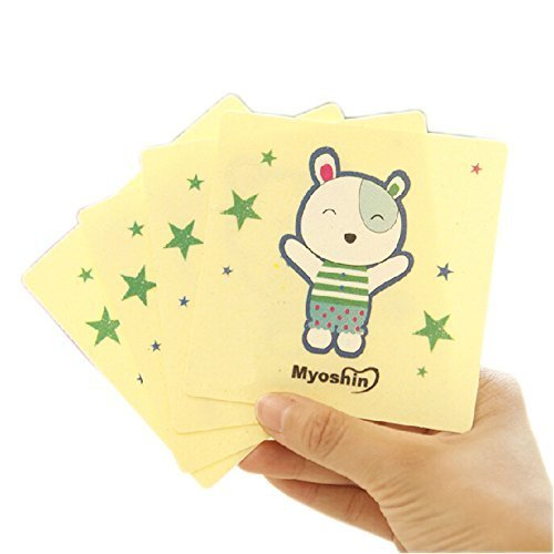 Baby Infant Bathing Mat Toddler Kids Non-Slip Ground Stickers Bear Set of 24